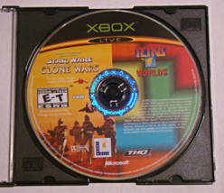 XBOX - STAR WARS THE CLONE WARS / TETRIS WORLDS (Game Only) - $6.75