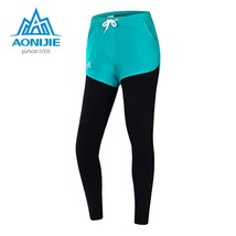 "AONIJIE Women""s Running Pants Sport Sportswear Quick Dry Breathable Cycling Gym  - $28.50"