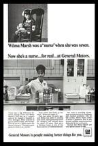 NURSE Uniform Nursing Medical General Motors Advertising 1967 GM Photo P... - $9.99