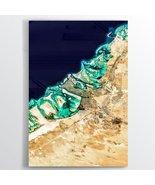 Abu Dhabi Earth Photography - Floating Acrylic Art - $54.00+