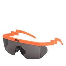 neff Unisex-Adult Brodie Shades Rimless Sunglasses, INFRARED RUBBER, 6 mm - $41.79