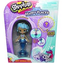 Shopkins Happy Places Color Changing Tail Bub-Lea Mermaid Season 6 - $7.95