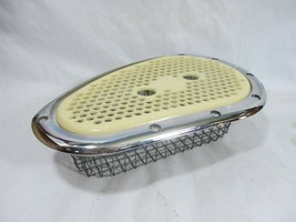 Vtg Compact Kenmore 110.7208300W Dryer Lint Filter Screen Cover and Chro... - $32.68