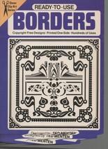Ready-to-Use Borders - Ted Menten - Dover Clip-Art SC 1979 0486237826 - $1.08