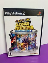 Capcom Classics Collection Vol. 2 Sony PlayStation 2 PS2 2006 Pre Owned - $14.84