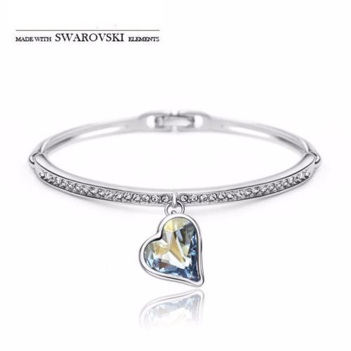 Made with Swarovski Crystal Jewelry Bangles Bridal Jewelry Bracelets for Women