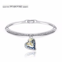 Made with Swarovski Crystal Jewelry Bangles Bridal Jewelry Bracelets for... - $44.53