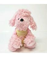 "Ganz Webkinz Poodle 10"" Plush Dog Pink Fuzzy Curly Stuffed Animal NO COD... - $15.47"