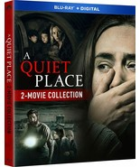 A Quiet Place 2-Movie Collection BLU-RAY + SLIPCOVER +DIGITAL CANADA Bra... - $29.65