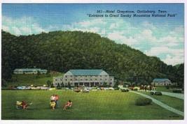 Tennessee Postcard Gatlinburg Hotel Greystone Smoky Mountains National Park - $2.25
