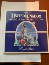 United Kingdom Mint coins set 1984 - $23.95