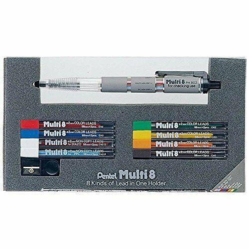*Pentel multi-8 set PH802ST Iroshin 8 colors image 2