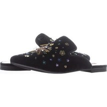 Betsey Johnson Solar Studded Mules 719, Black Multi, 8 US - $25.90