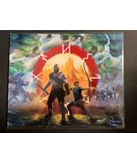 """God of War """"Kratos and Son"""" 8x10 BAM! BOX Art Print Signed by Matt Akin ... - $11.35"""