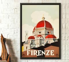 Florence Travel Poster - Italy Travel Poster Firenze Poster Trave Wall A... - $16.99+