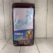 Hannah Montana Curtains Pair 82 x 63 Daisy Patch Drapes New Disney Channel - $24.74