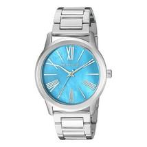 Michael Kors Women's Watch Ladies Silver-Tone Steel Bracelet Blue Dial MK3519 - $207.45