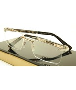 ZILLI Eyeglasses Frame Acetate Leather Titanium France Hand Made ZI 6001... - $783.03