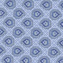 Longaberger Small Wash Day Basket Blue Provincial Paisley Fabric OE Line... - $26.58