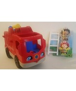 Fisher-Price Little People Helping Others Fire Truck w/Ladder & 2 Little... - $15.31
