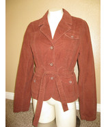 """New with tags, Urban Outfitters Jacket """"LUX"""" Brown w/ belt Junior size L... - $17.99"""