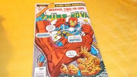 Marvel Two-In-One ANNUAL # 3 * The THING & NOVA * VF * 1978 * vs. The MO... - $4.00