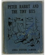 Old HC Children's Wee Book Peter Rabbit and The Tiny Bits 1935 Platt & M... - $19.59