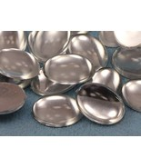 18x13mm Crystal Clear .AC Flat Back Acrylic Oval Cabochon -25PCS - $4.28