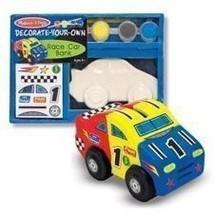 New Melissa & Doug Build Your Own Bank - Race CAR- #3332 - $7.05