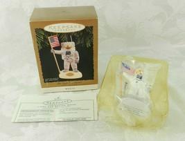 Hallmark Christmas Ornament - The Eagle Has Landed Magic Light & Voice 1... - $14.84