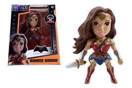 Jada Metals Die Cast 4 Inch Action Figure Wonder Woman Down of Justice M7 - $11.63