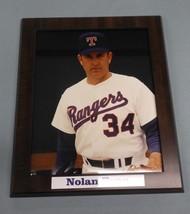 Nolan Ryan #34 Texas Rangers photo plaque 12 x 15 board - $15.43