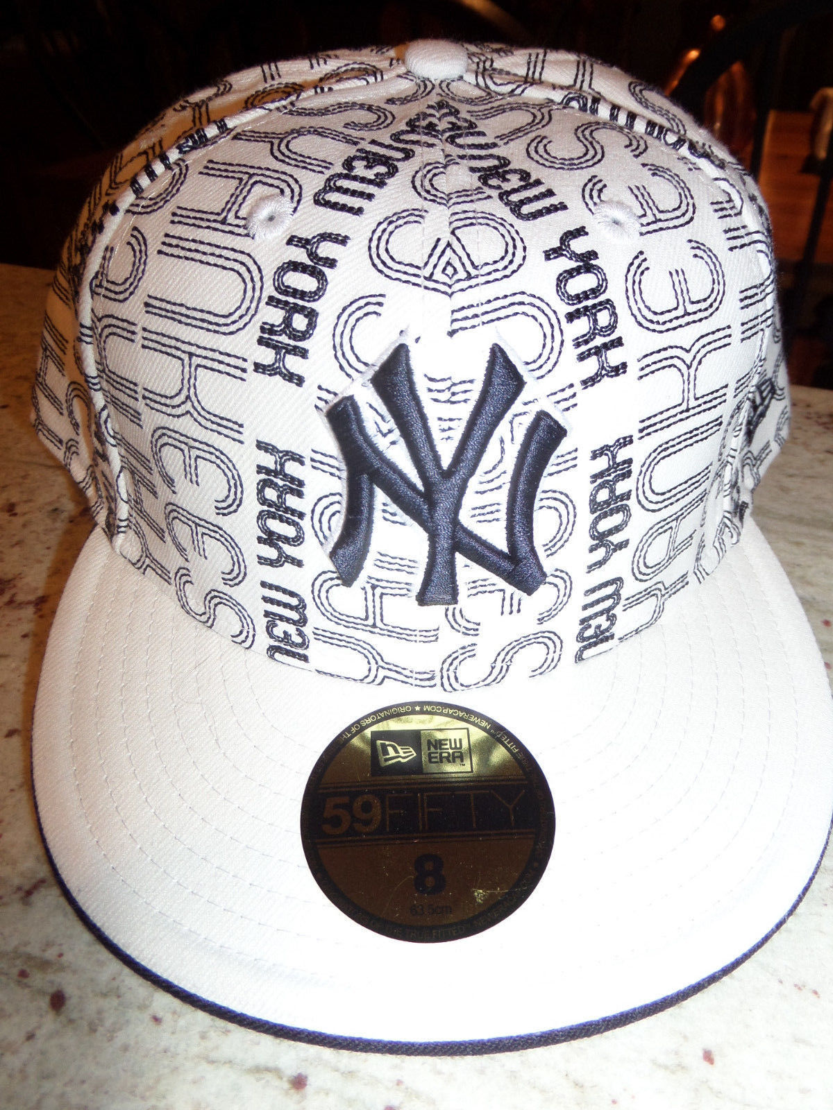 0ad8ecd8ddf ... promo code for 4d 10 new york yankees new era 59fifty fitted hat size 8  black