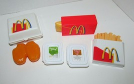 fisher price vintage Mcdonald's box chicken mc nuggets dipping sauce fri... - $35.63