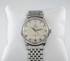 Omega Vintage Inoxydable Acier Constellation Watch Eau / Tarte Plateau Dial - $2,318.67