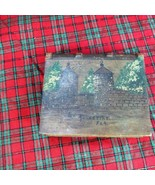 St. Augustine, Fla., 1901 Carved & Painted Wooden Book, City Gates - $34.43