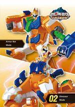 Miniforce Tego Lina Transformation Action Figure Super Dinosaur Power Part 2 Toy image 5