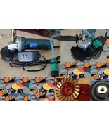 Variable Speed Wet Polisher Polishing 26 Pad Grinding Cup Concrete Stone... - $173.24