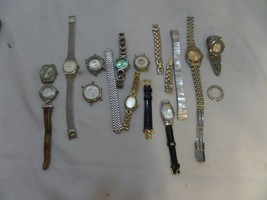 Lot Of Vintage ladies watches with case - $47.74