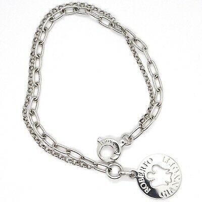 Silver Bracelet 925, Pendant Pendant Angel Roberto Giannotti GIA192