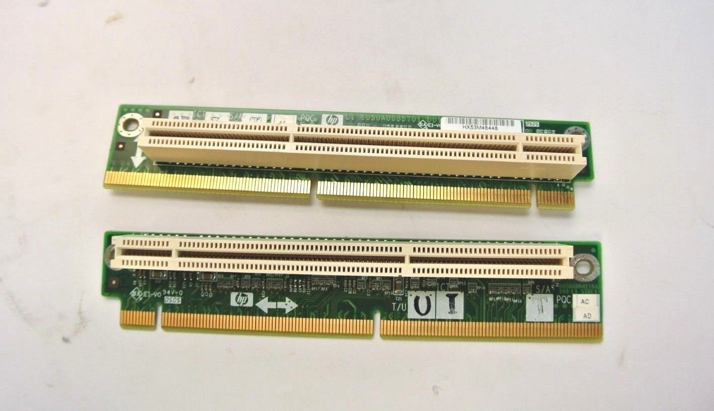 2x HP 511808-001 490420-001 ProLiant DL160 DL320 G6 PCI-E x16 Riser Board