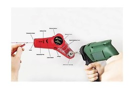 AdirPro Drill Buddy Cordless Dust Collector with Laser Level, Bubble via... - $24.69