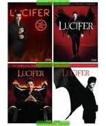 Lucifer The Complete Series Seasons 1 2 3 & 4 DVD Collection New Sealed ... - $37.00