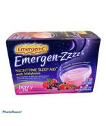 Emergen-zzzz Emergen-C Nighttime Berry PM Sleep Aid, 24 Count BBD August... - $54.44