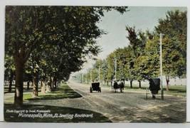 MN Ft Snelling Boulevard 1909 Maple Plain To Minneapolis Postcard P4 - $8.95