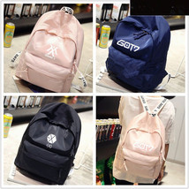 KPOP  Backpack EXO Cute Bag Shoulder Bookbag Student Back to School Unisex - $16.99