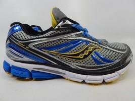 Saucony Omni 12 Size US 8.5 M (D) EU 42 Men's Running Shoes Silver 20206-2