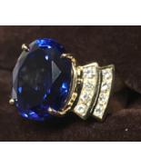 CHRISTMAS SPECIAL TANZANITE & DIAMOND RING 11.98cts WOMEN JEWELRY PIRATE... - $8,150.00