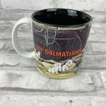 Walt Disney Company Classic 101 Dalmatians Coffee Mug Cup Black White Spots - $12.59