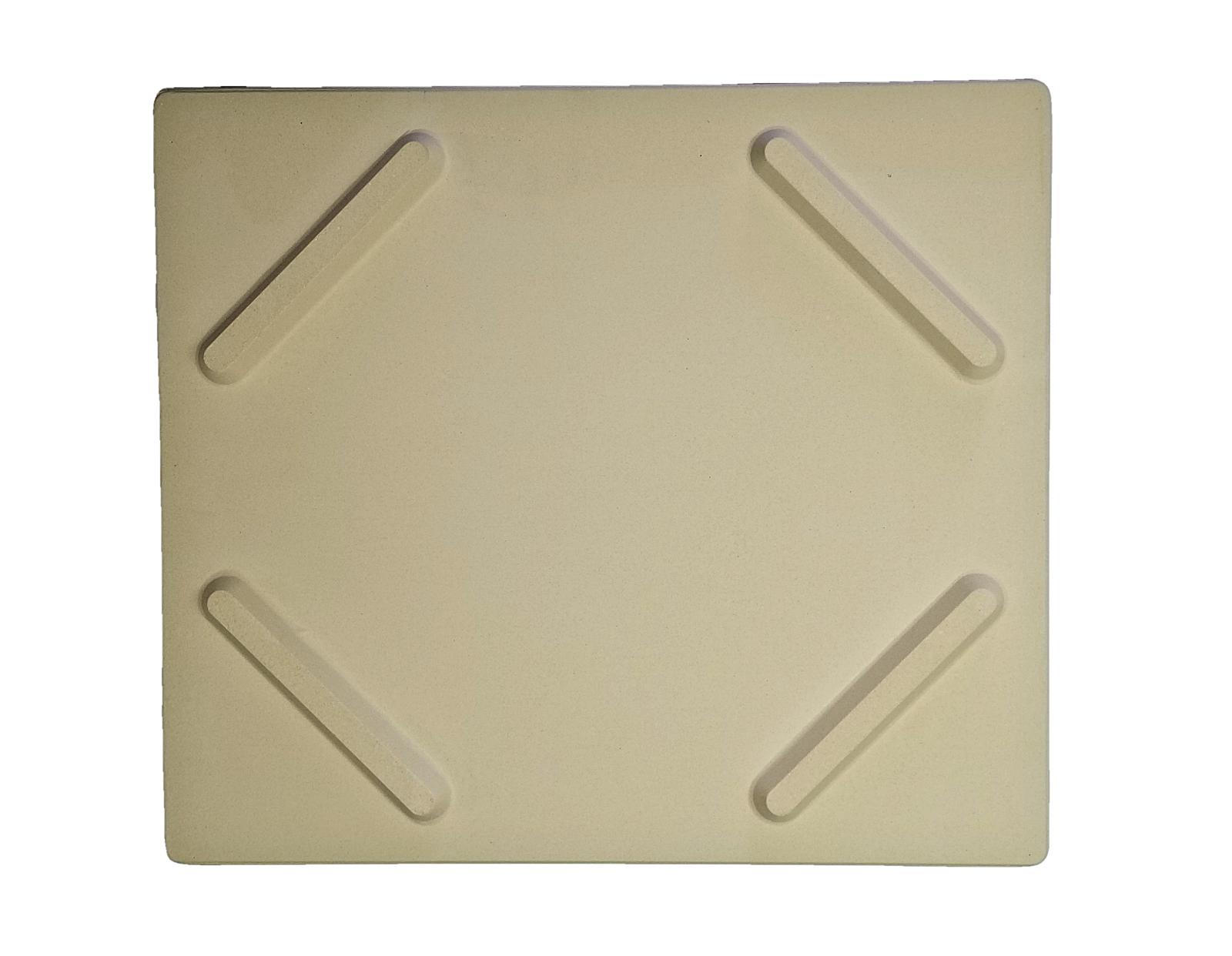 Davy Crockett Pizza Stone + Rocker Pizza Cutter - Stainless Steel/Wood Handle